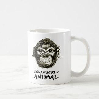 Mug Monkey - Animal in Danger of Extinction