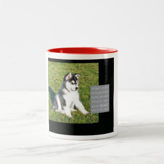 Mug - My heart would be empty without my dog