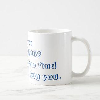 Mug : Need a hug?  (Blue)