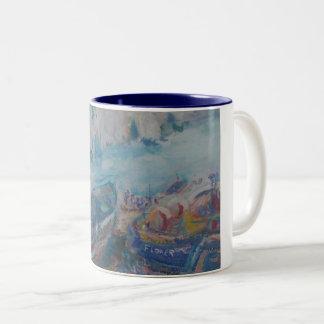 Mug of Flower Boat at Flamborough Head