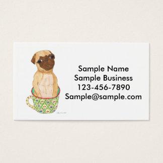 Mug of Pug Business Cards