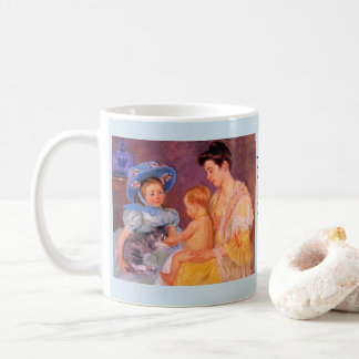 MUG OF SARA & CAT WITH BROTHER & MOTHER