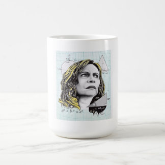 Mug of the Nazaré of the novel thinking