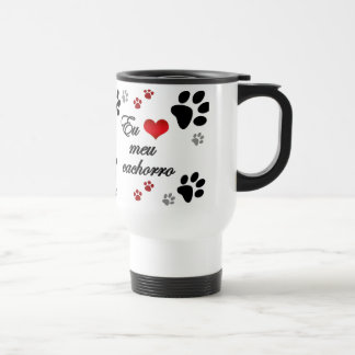 Mug of trip 444 ml Design I love my Dog