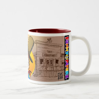 "MUG: ""Old Sebastian's"" Two-Tone Coffee Mug"