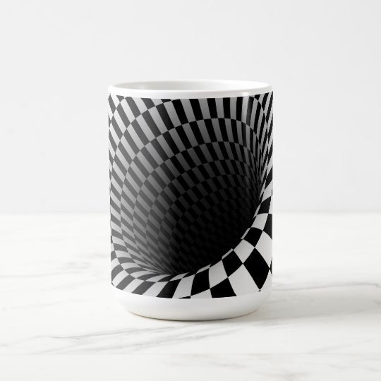Mug/Optical Illusion Coffee Mug