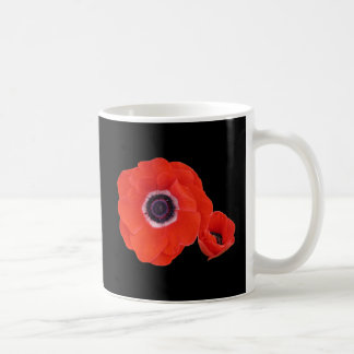 Mug, Perfect Crimson Poppies Coffee Mug