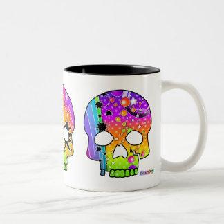 Mug - POP ART SKULLS