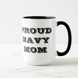 Mug Proud Navy Mom