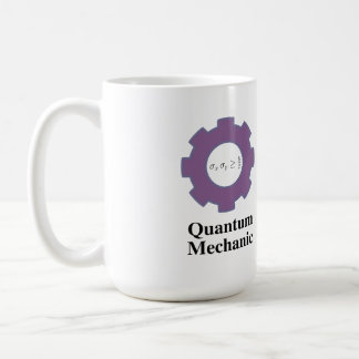 mug, quantum mechanic, infinite square well coffee mug