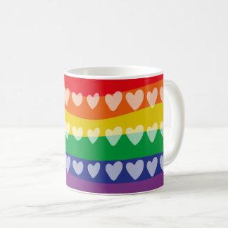 Mug Rainbow Hearts