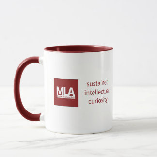 "Mug Red w ""sustained intellectual curiosity"""