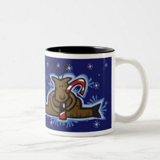 Mug - Reindeer & Candycane