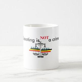 Mug shooting is not has crime