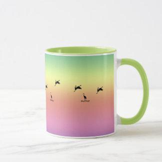 Mug - Shore Birds at Sunrise