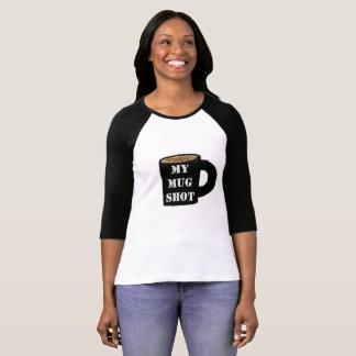 Mug Shot, drink, beer, coffee, humor, mug, arrest T-Shirt