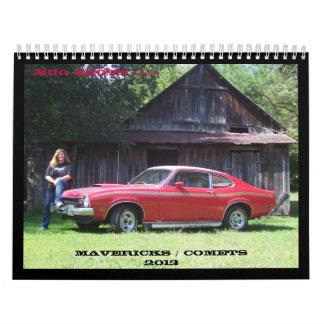 Mug Shots 2013 Wall Calendar