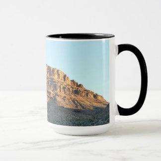 Mug Spirit Mountain with black rim