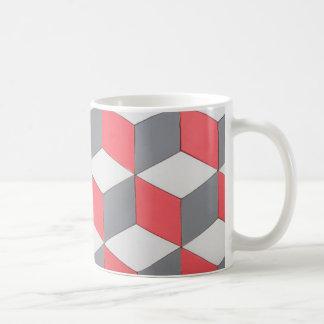 mug standard mosaic squares