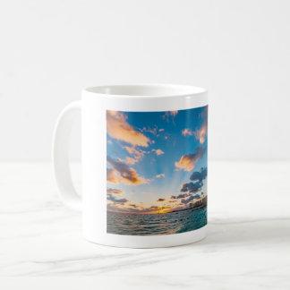 Mug - Sunrise over Punta Cancun, Mexico
