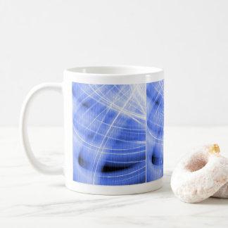 Mug swirl of cloud blue