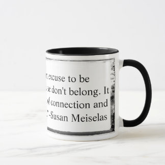 Mug The camera is an excuse quote Meiselas
