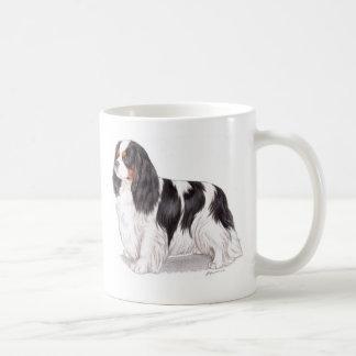 Mug: Tricolor Cavalier King charles spaniel Coffee Mug