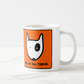 Mug We Love Bull terrier