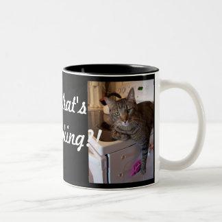 Mug- What's cooking??! Two-Tone Coffee Mug