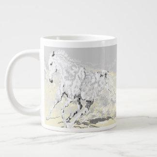 Mug :White Stallion in Motion