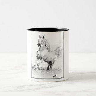 Mug - wide horse