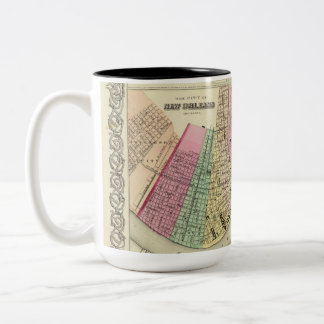 Mug with 1956 Cotton map of New Orleans