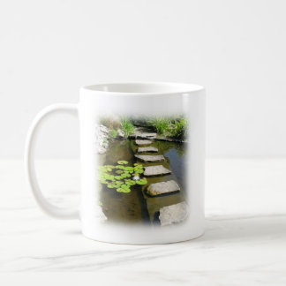 Mug with a path and a Bible verse (Psalm 16:11)