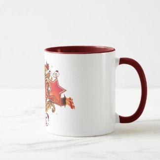 Mug with an emblem. Ukraine