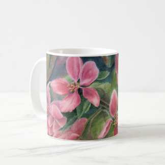 Mug with Apple Blossoms