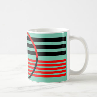 Mug with Art Deco Style