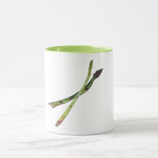 Mug with Asparagus