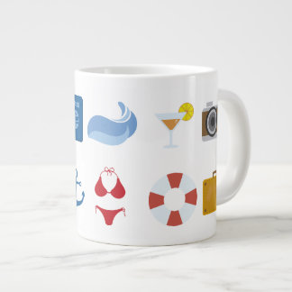Mug with beach Subject