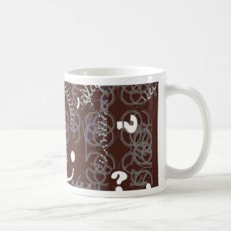 Mug with Brown Abstract