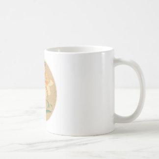 Mug with Brush drawing design