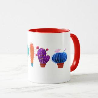 Mug with cactus