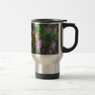 Mug with Camellia Design