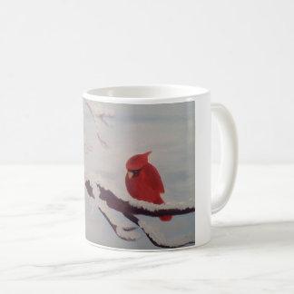 mug with cardinal