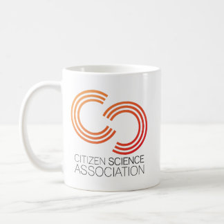 Mug with Citizen Science Association logo