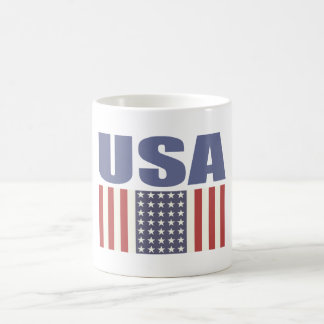 Mug with Cool USA Flag Print