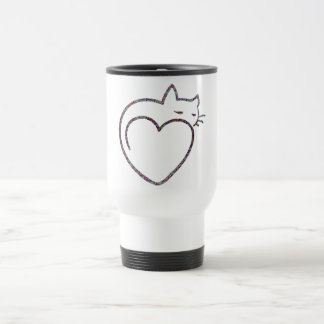 "Mug with cover ""Love Cats """