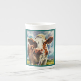 Mug with Cow watercolor
