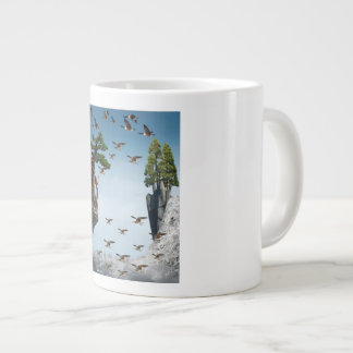 Mug with Digital Art for Nature Lovers