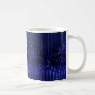 Mug with Digital Art Musical Decor - Concert Hall