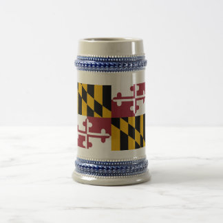 Mug with Flag of Maryland State -USA
